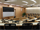 Tiered Lecture Room